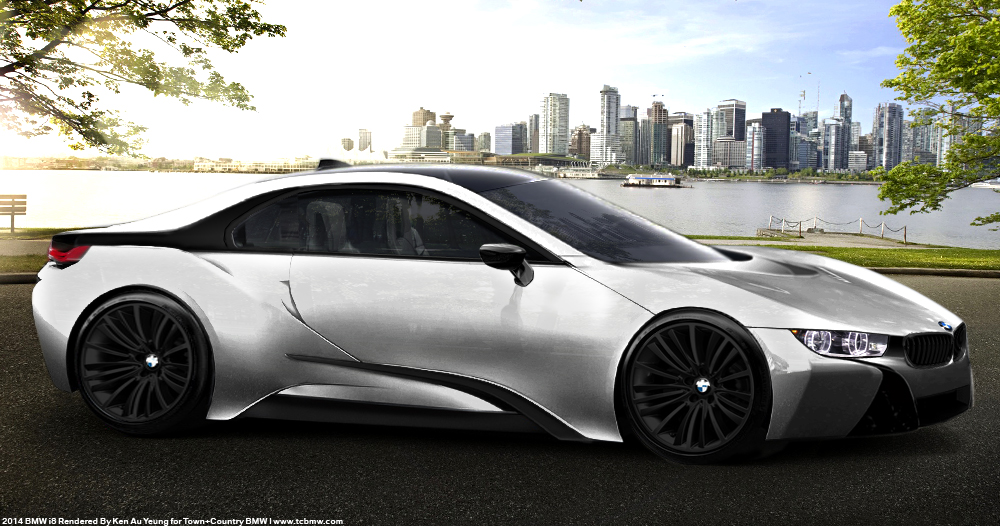 New Bmw I8 Coupe Production Renders Bmw Markham