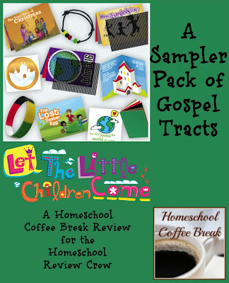 A Sampler Pack of Gospel Tracts (A Homeschool Coffee Break Review for the Homeschool Review Crew) on Homeschool Coffee Break @ kympossibleblog.blogspot.com