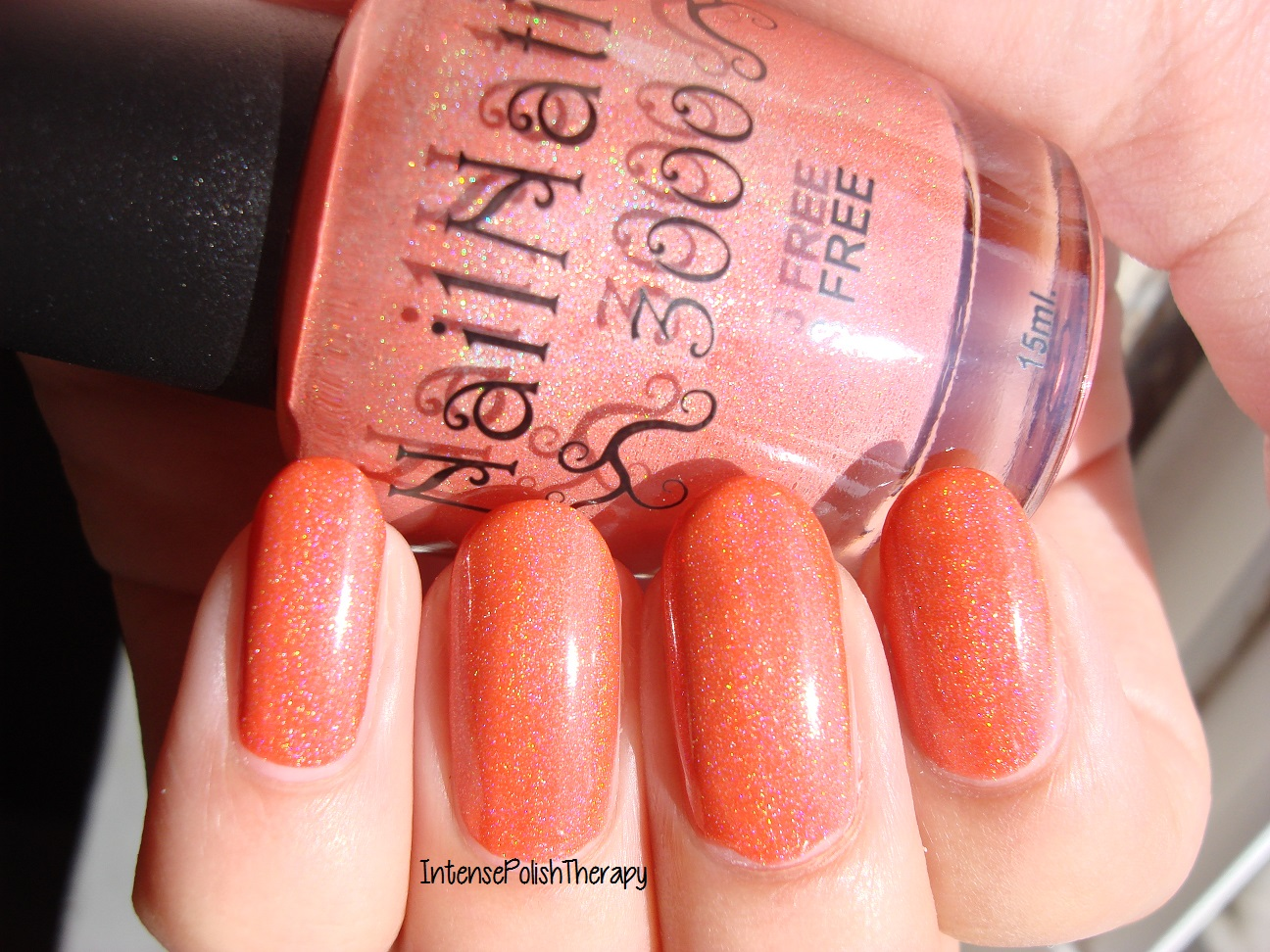 Nail Nation 3000 - Tangelo N Holo
