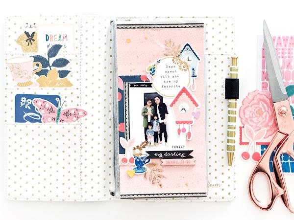 Maggie Holmes Design Team : Travel Notebook