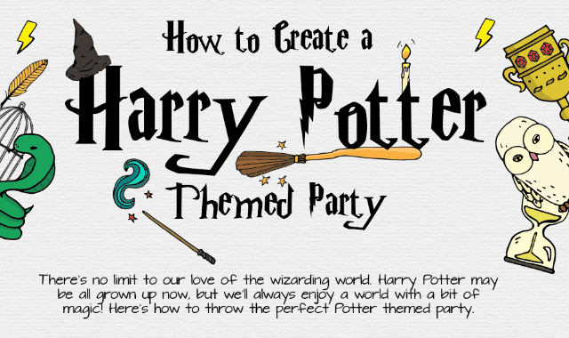How To Create A Harry Potter Themed Party