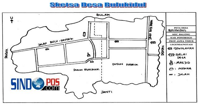 Profil Desa & Kelurahan, Desa Bulukidul Kecamatan Balong Kabupaten Ponorogo