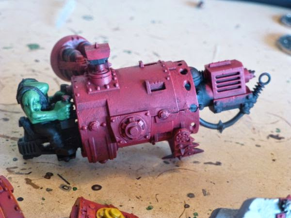 WIP ork morkanaut right arm