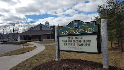 "Franklin Senior Center has a sign up list for the ""Spring Fling"""
