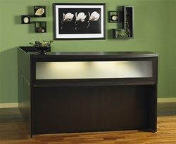 Aberdeen L shaped reception desk