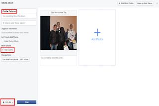 كيفية تحميل الصور على الفيسبوك الشخصي بجودة عالية جدا!