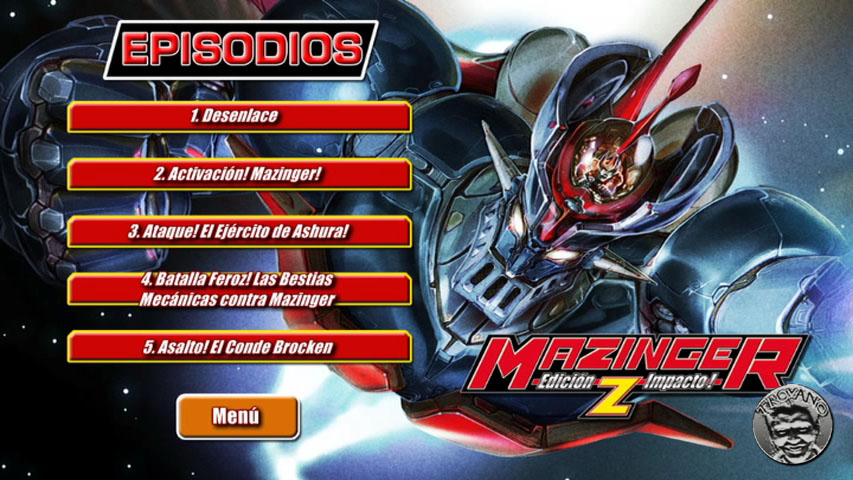 cap2B2 - Mazinger Edition Z: The Impact! (2009) [DVDC NTSC][5 DVDs][HDTV][Audio SOLO Latino]