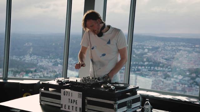 Mit Dexter auf dem Stuttgarter Fernsehturm | Dexter spielt seine Lieblingstracks