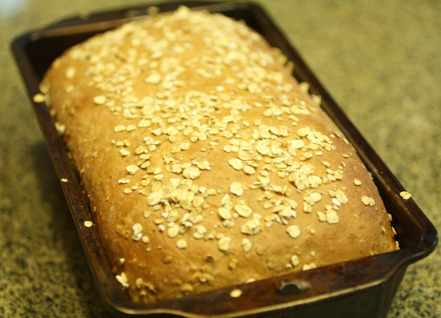 Pan de avena tostada / Toasted oatmeal bread