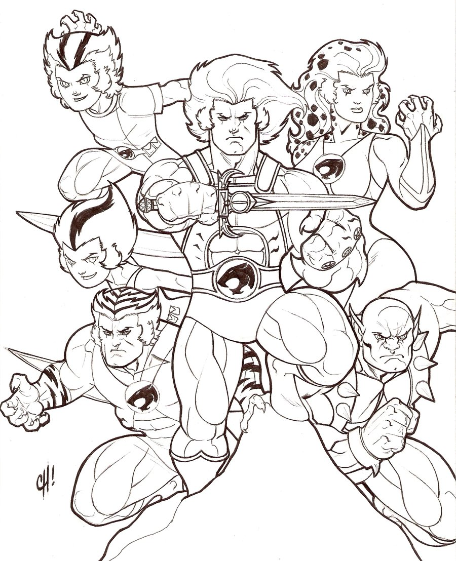 cheetara thundercats coloring pages - photo#43