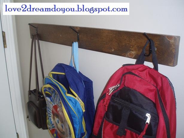 Love2dream Do You Backpack Hooks