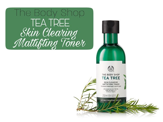 Review The Body Shop Tea Tree Toner