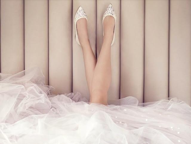 zapatos planos novia jimmy choo