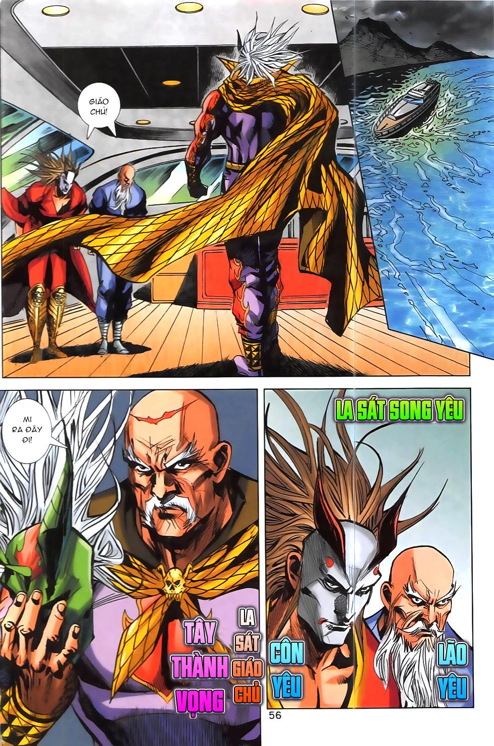 Hoàng Giả Chi Lộ chap 12.2 Trang 28 - Mangak.info