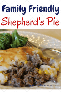 Family Friendly Shepherd's Pie
