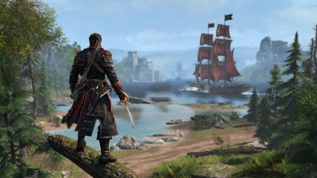 تسجيل نسخة ريماستر للعبة Assassin's Creed Rogue على عدة متاجر !