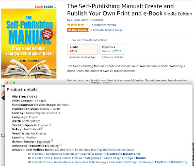 We are Live, The Self-Publishing Manual Book Launch and Success to #1 on Kindle