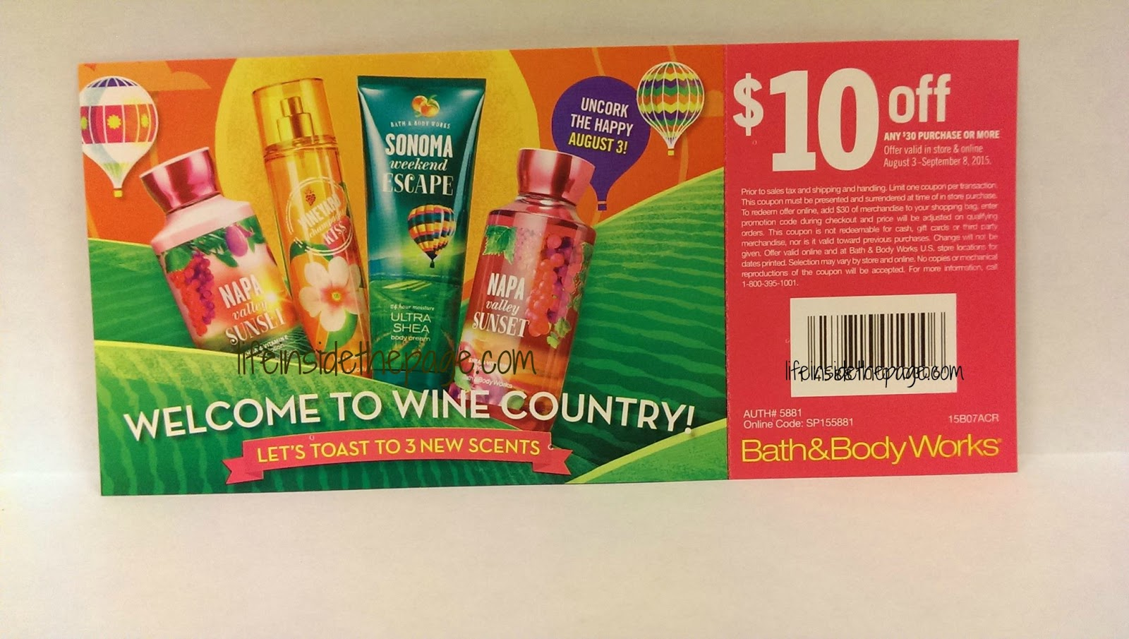Life Inside The Page Bath Amp Body Works August