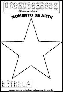 Projeto Pátria, desenho de estrela