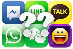 10 aplikasi chatting buat smartphone