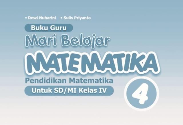 File Pendidikan Buku Matematika Kelas 4 Kurikulum 2013 Revisi