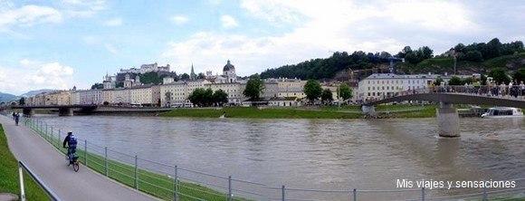 Río Salzach, Salzburgo, Austria
