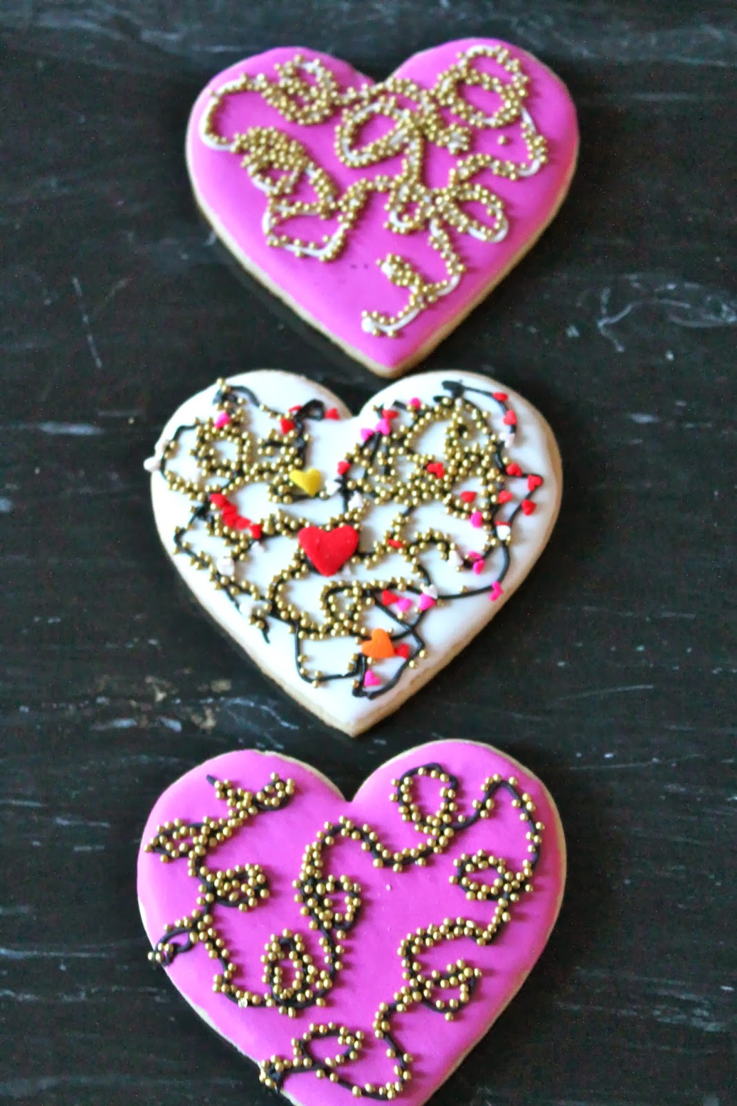 Ideas faciles y rapidas para decorar galletas para san valentin quick and easy cookies - Ideas para sanvalentin ...