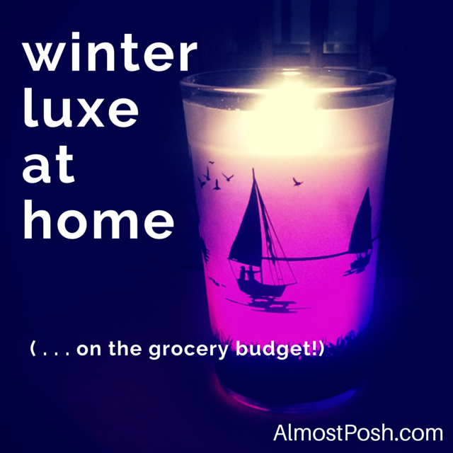 winter luxe at home
