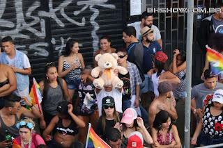 IMG 0066 - 13ª Parada do Orgulho LGBT Contagem reuniu milhares de pessoas