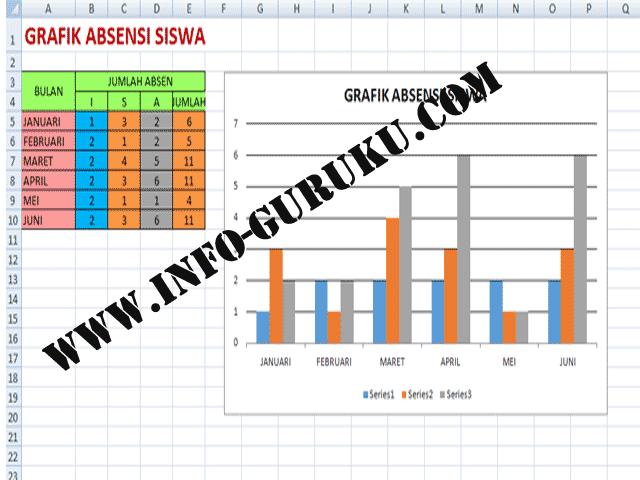 Info Guru Download Aplikasi Absensi Siswa Plus Grafik Absensi Siswa