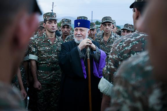 Cumpleaños del Pontífice de Todos los armenios