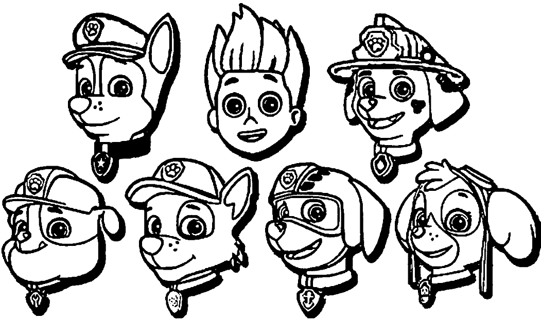 paw patrol coloring pages game - photo#22
