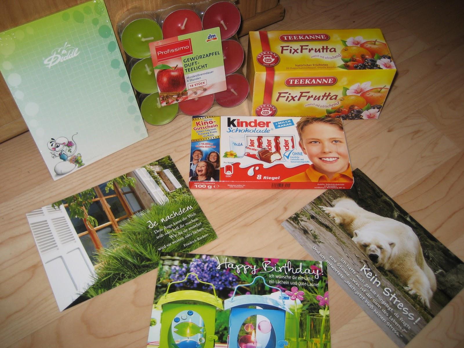 Selene~Niniel: Meine Geburtstagsgeschenke :)