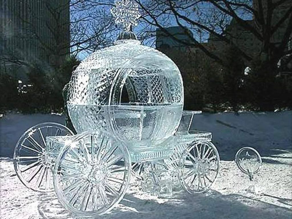 amazing ice sculpture wallpapers - photo #11
