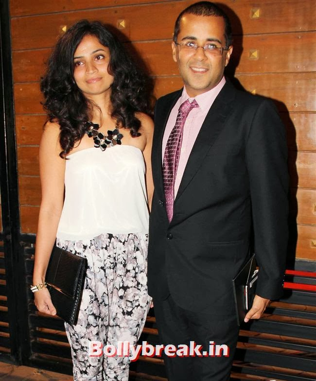 Chetan Bhagat, Filmfare Awards 2014 Red carpet Images