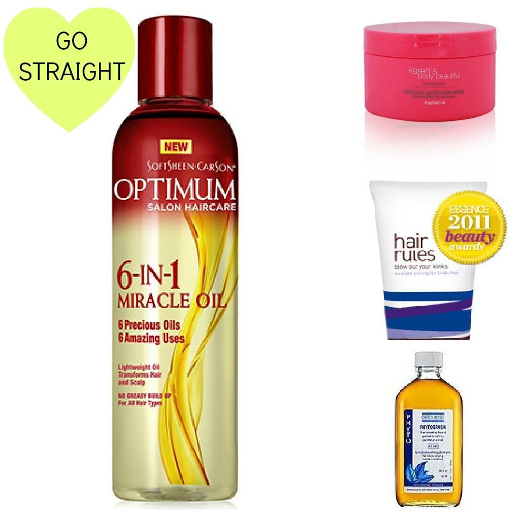Must have hair products for straight natural hair