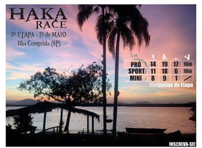 Ilha sedia a competição multiesportiva Haka Race no sábado 19/05
