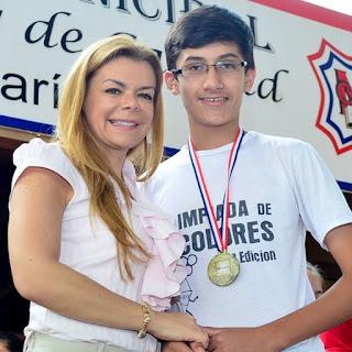 El alumno de la Escuela Municipal de Ciudad del Este, Rodrigo Schliiter, viajará mañana viernes 6 a Rumania para participar de la 59ª. edición de la Olimpiada Internacional de Matemáticas.