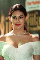 Amyra Dastur in White Deep neck Top and Black Skirt ~  Exclusive 038.JPG