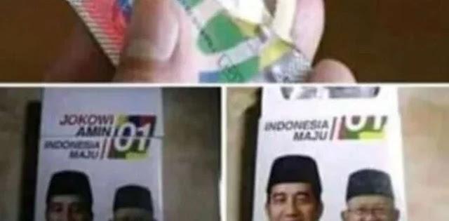 Ramai Bungkus Kondom Bergambar Paslon 01, Relawan Meradang
