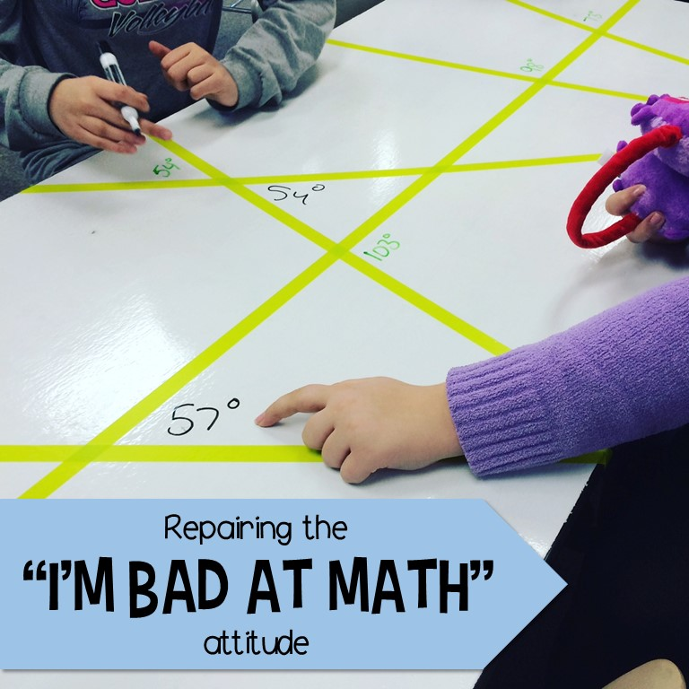 Middle School Math Man: Repairing the \