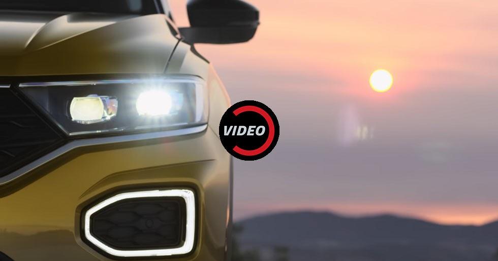 Volkswagen t roc shows its interior in latest teaser video for Interior volkswagen t roc