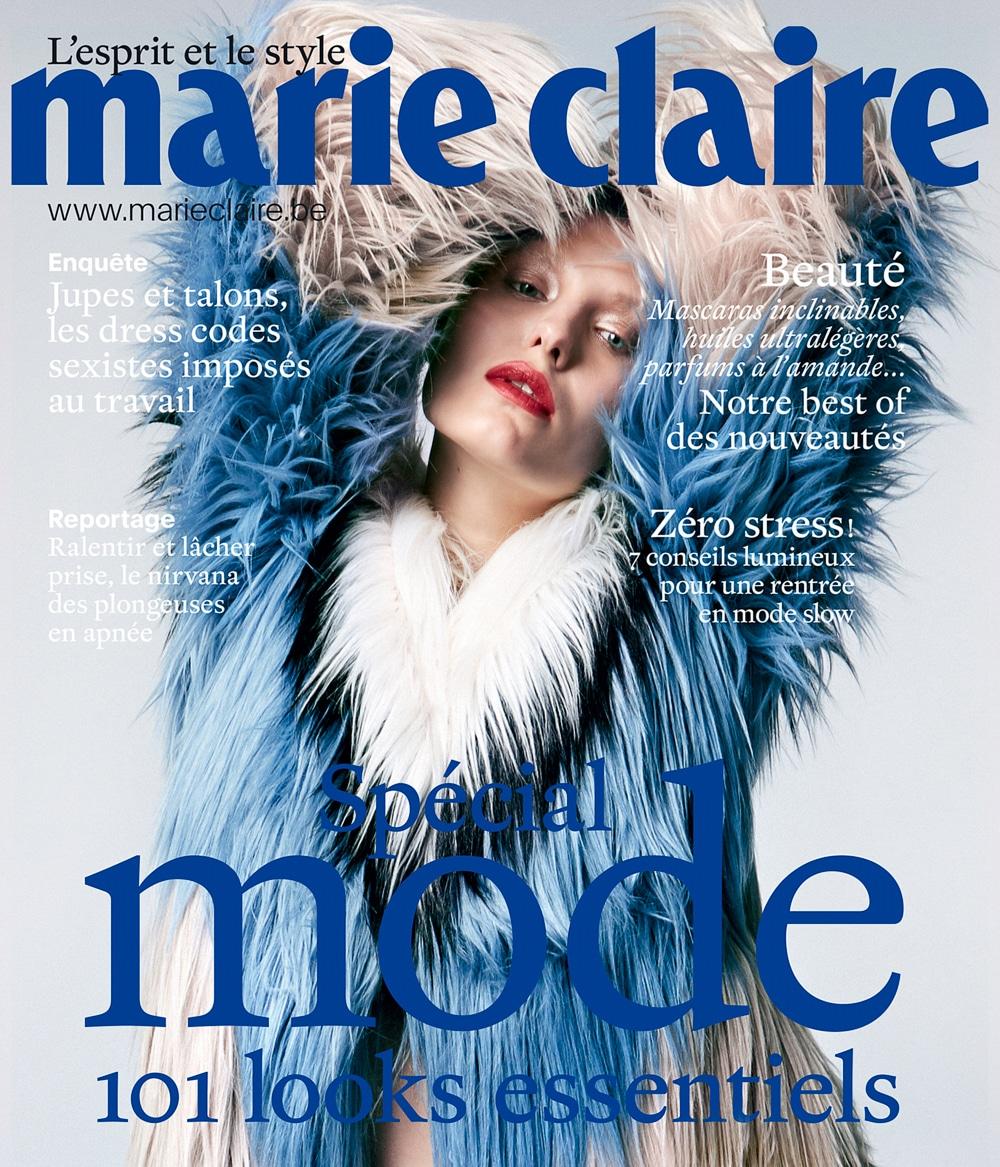 Jo Kruk - Marie Claire Belgium October 2017