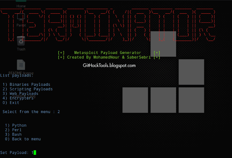 Terminator - An Easy way to create Metasploit Payloads