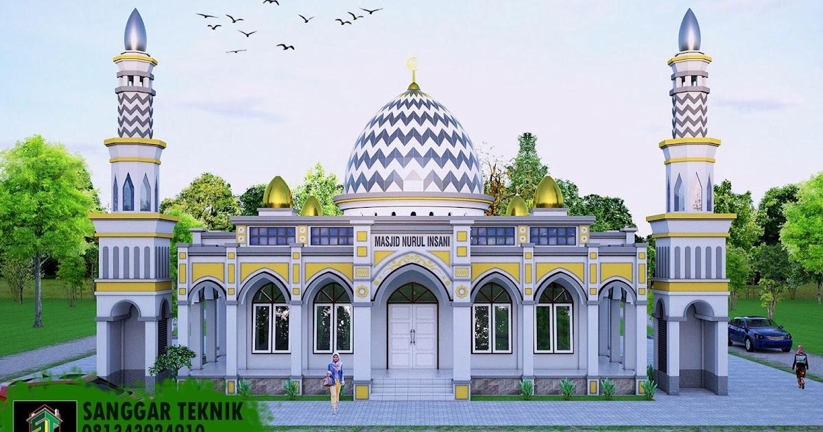 Desain Masjid Minimalis 1 Lantai - Inspirasi Desain Rumah 2019