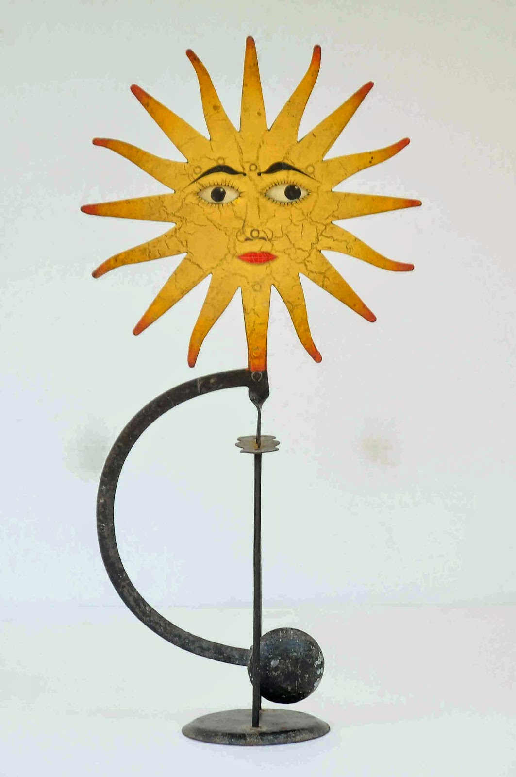 Old Vintage Gallery Antique Sun Balancing Toy