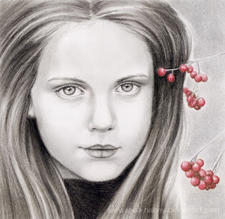 cara de mujer dibujo a lapiz