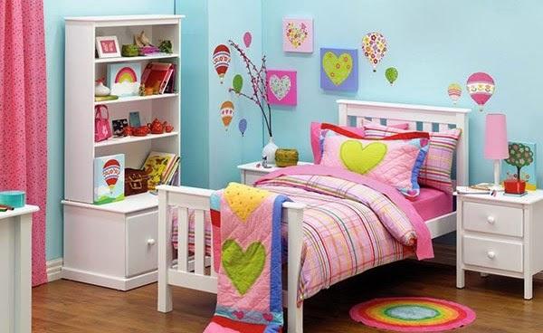 decoración dormitorio corazones