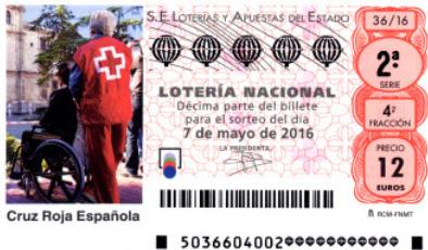 loteria cruz roja