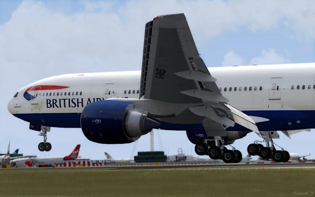 Super Pack 777 Posky FSX - Ariel Creation - Flight Simulator